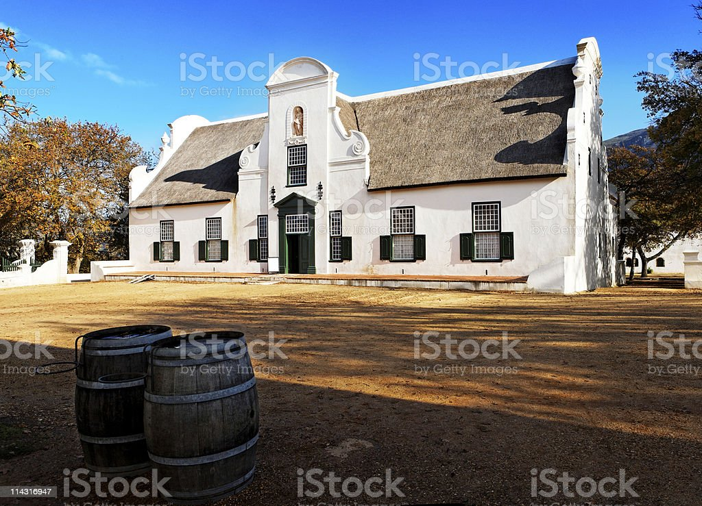Groot Constantia stock photo