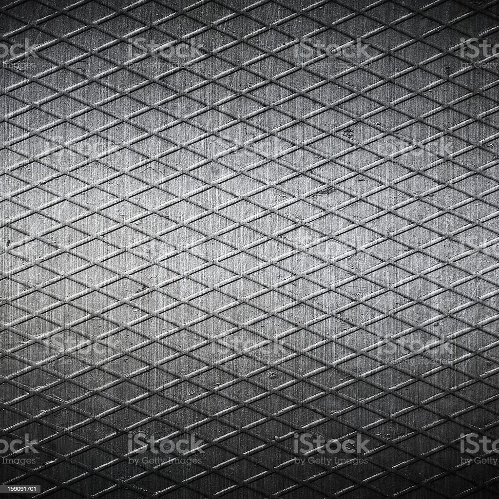 grooved metal  plate ; abstract background royalty-free stock photo
