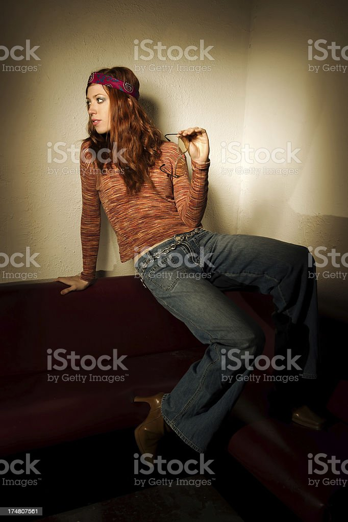 Groovy Girl royalty-free stock photo