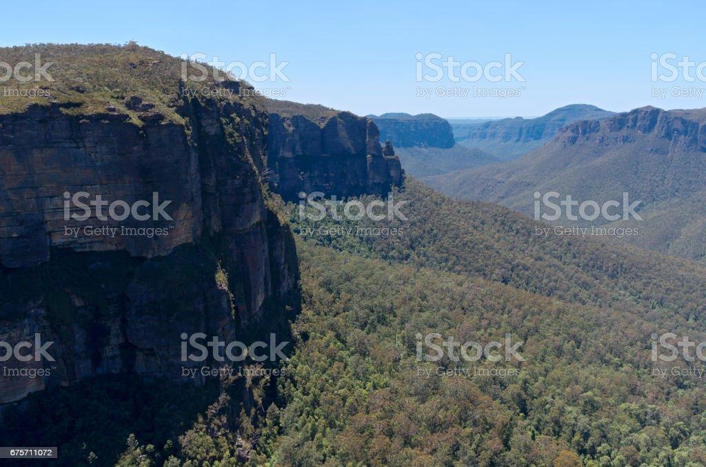 格羅斯谷景觀附近希思 免版稅 stock photo