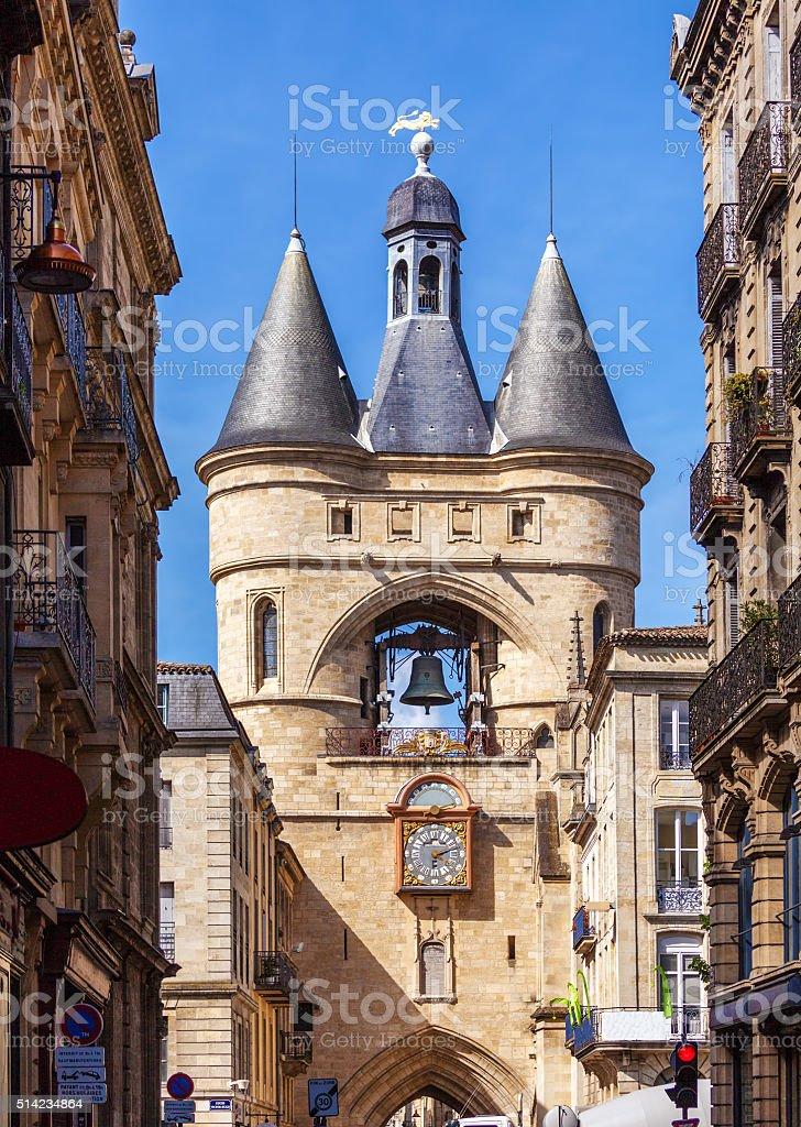 Grosse Closhe Bell Tour ancienne réveil, Bordeaux - Photo