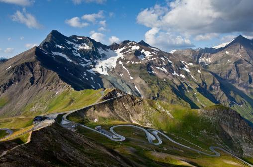 istock Grossglockner High Alpine Road on a sunny day 177132519