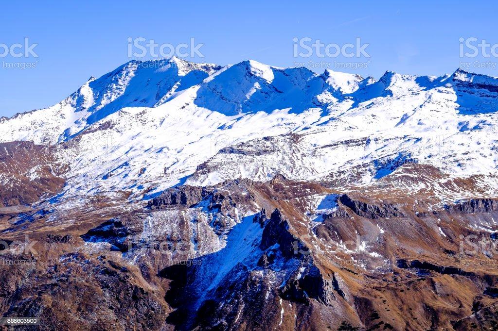 grossglockner mountain stock photo