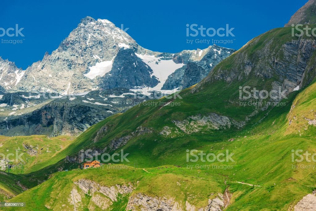 Grossglockner Mountain Summit stock photo