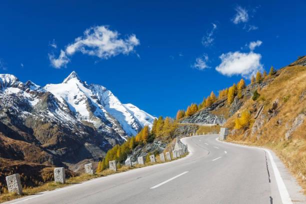Grossglockner mit alpinen road – Foto