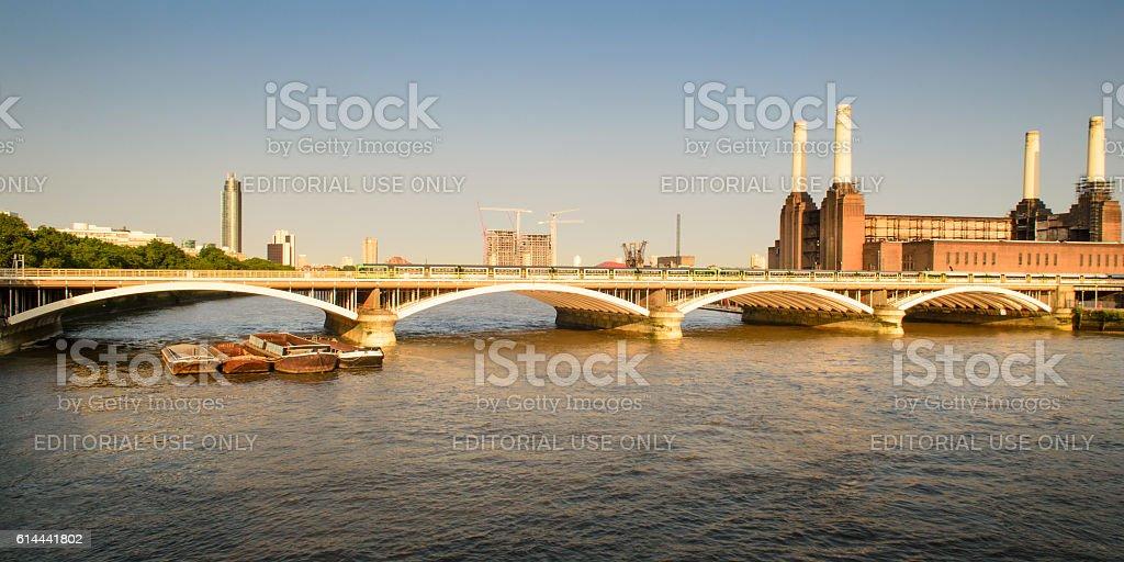 Grosvenor Bridge stock photo