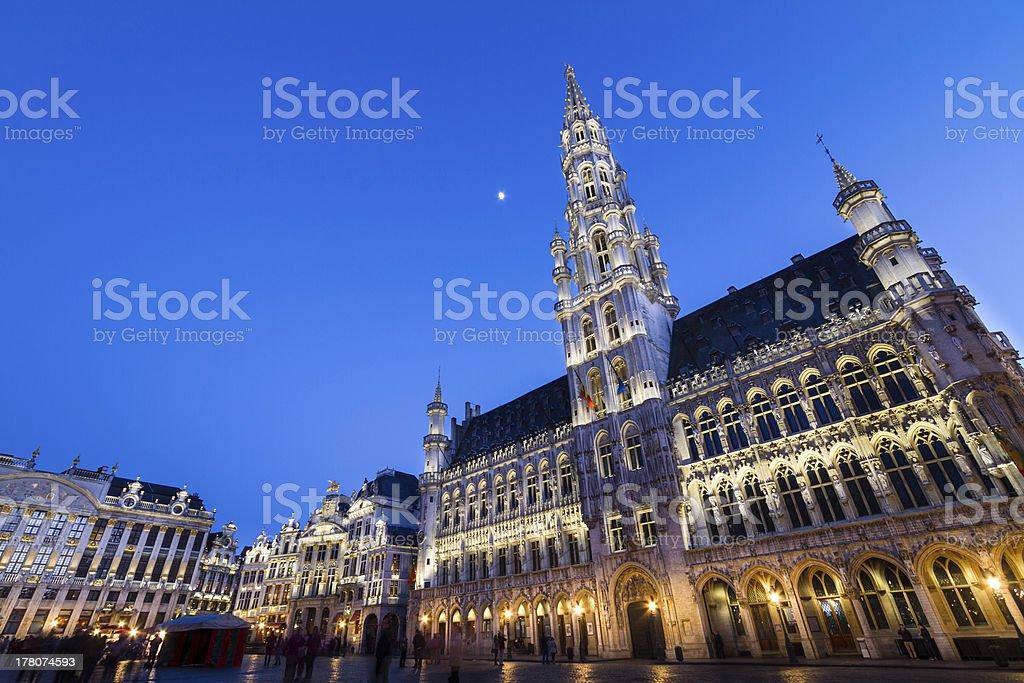 Grote Markt, Brussels, Belgium, Europe. stock photo