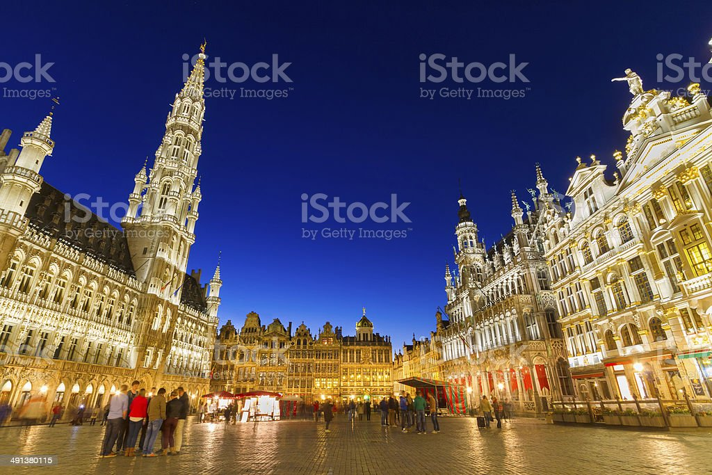 Grote Markt, Brussels, Belgium, Europe. stock photo