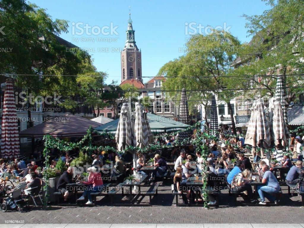Grote Markt La Haya La Gente Y El Edificio Vista Exterior