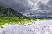 istock Grotlesanden beach, Bremanger, Norway. 483185029
