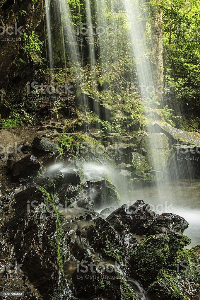 Grotto Falls, Great Smoky Mountain National Park royalty-free stock photo
