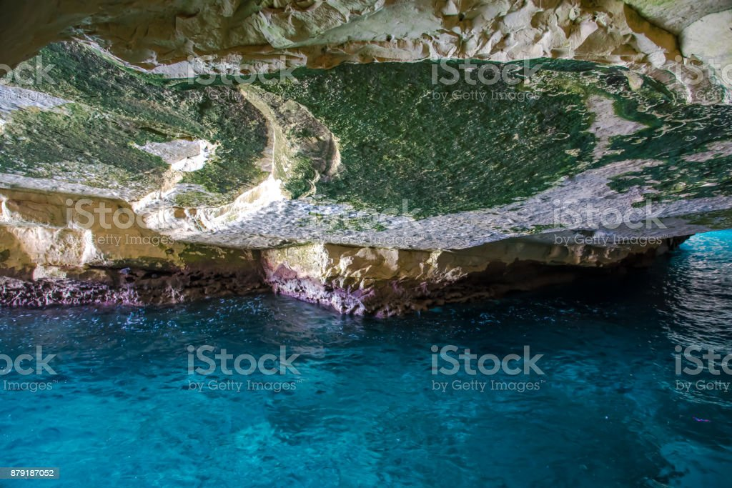 grottoes Rosh Hanikra stock photo