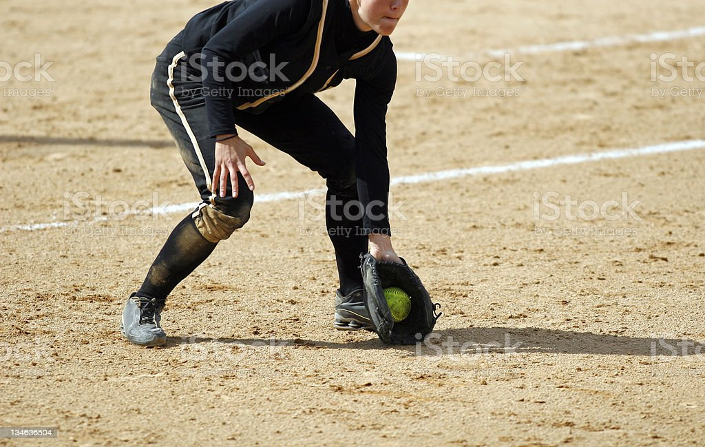 Ground Ball royalty-free stock photo