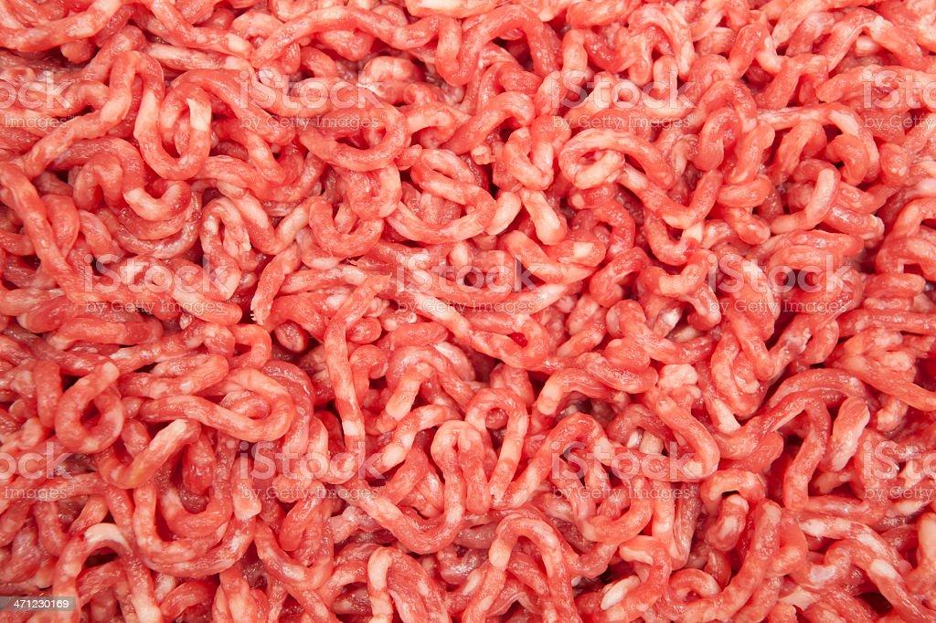 Ground Beef Macro stock photo
