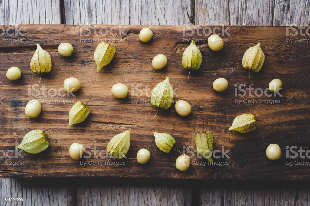 Ground Cherries stock photo