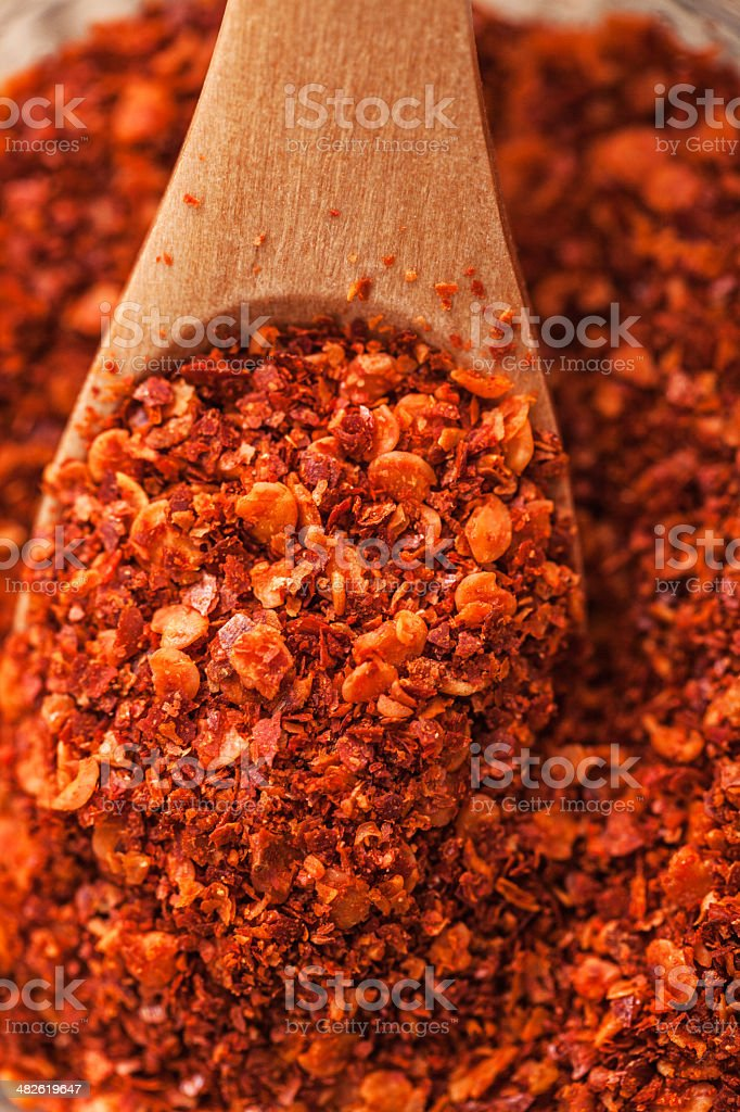 Ground chili royalty-free stock photo
