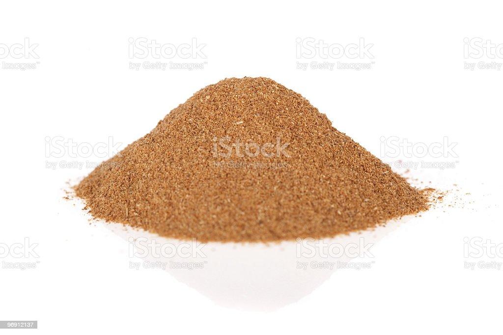 Ground Cinnamon royalty-free stock photo