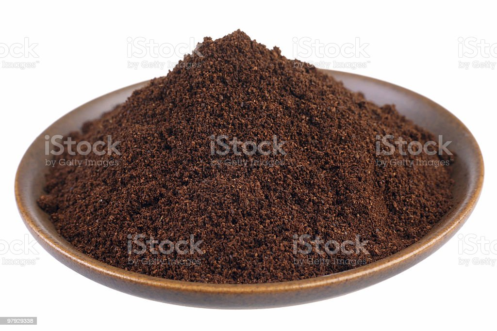 Ground coffe royalty-free stock photo