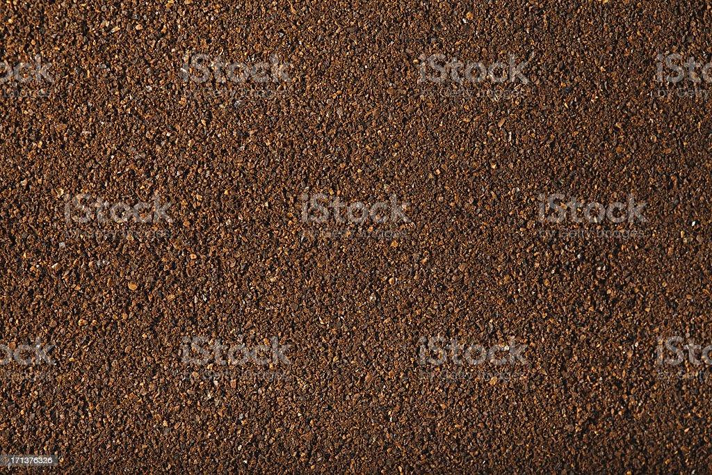 Ground Coffee. XXXL stock photo