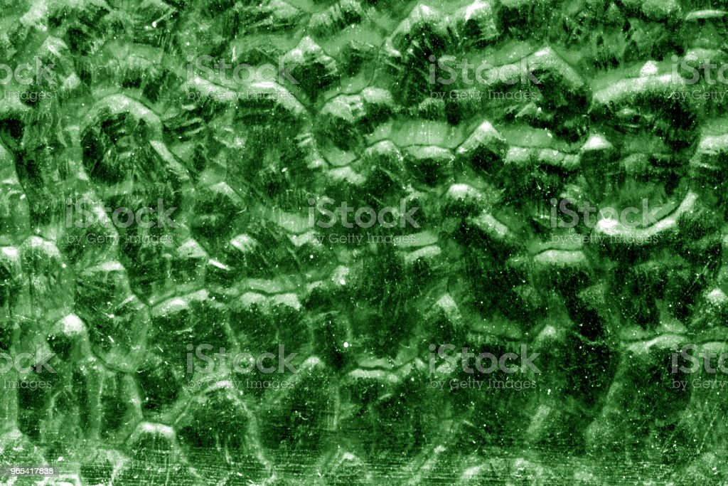Ground glass surface in green tone royalty-free stock photo