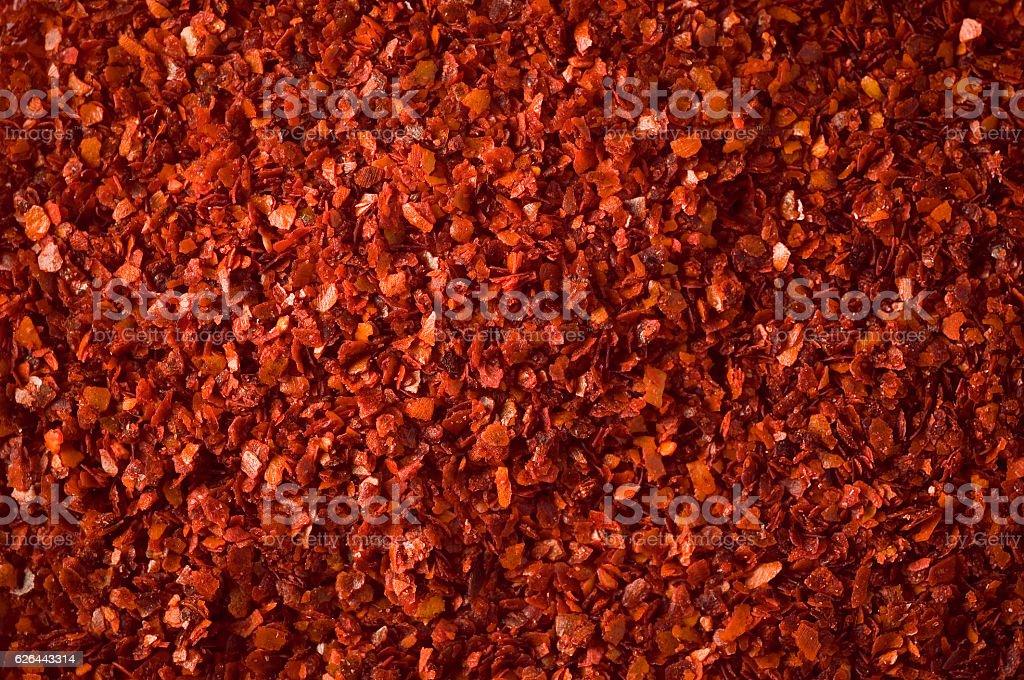 Ground Red Chili Pepper stock photo