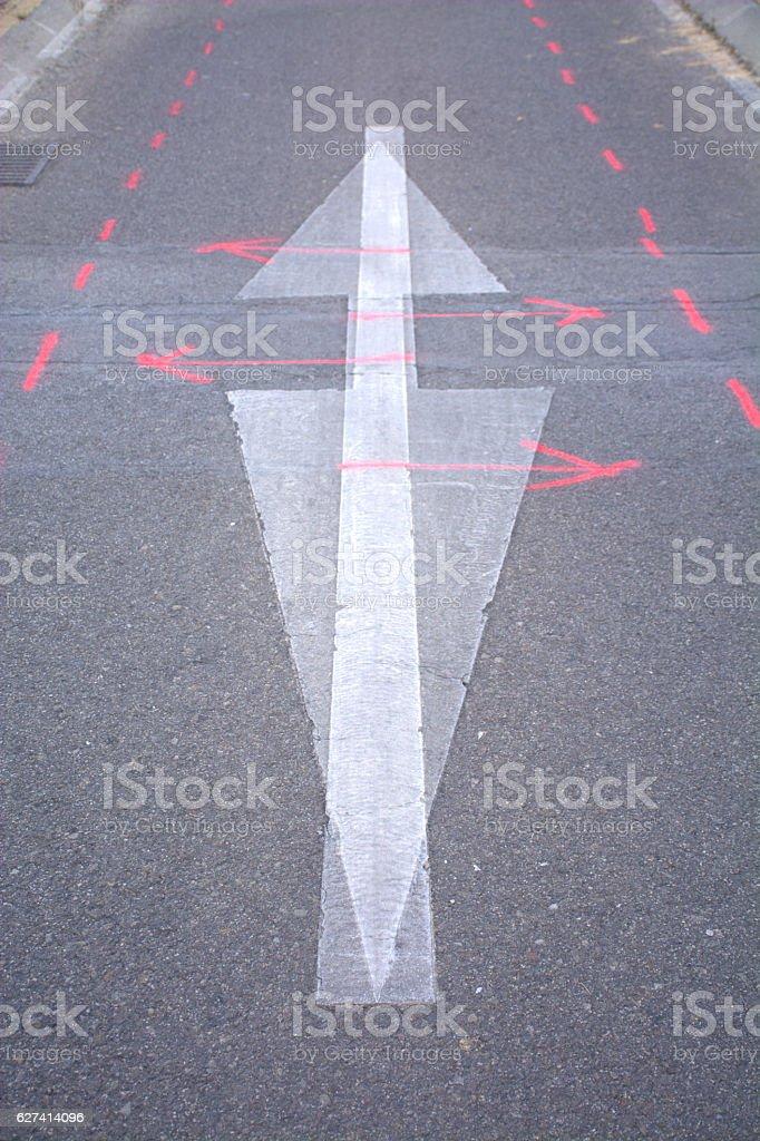 ground signs foto de stock libre de derechos