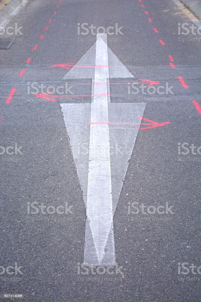 ground signs - foto de stock