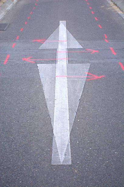 ground signs - foto de stock