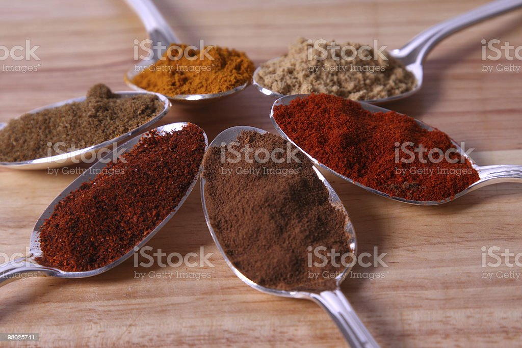 Ground Spice Close-Up royalty-free stock photo