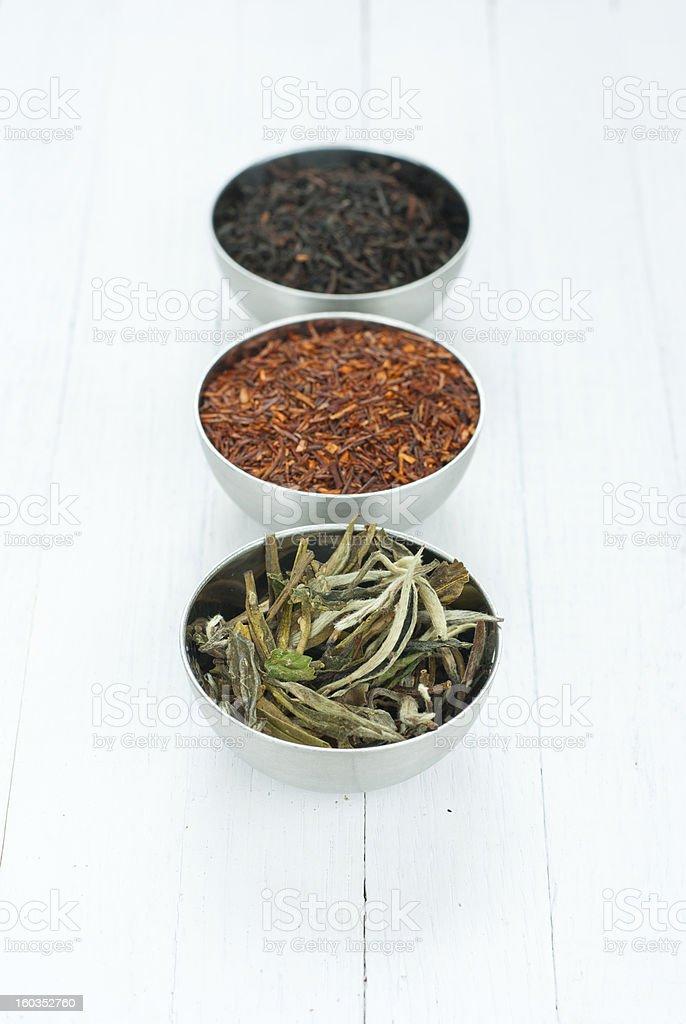 Ground tea leaves royalty-free stock photo