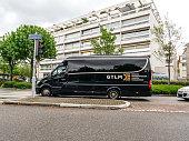 istock GTLM Ground transportation logistic management Sprinter van 1147331206