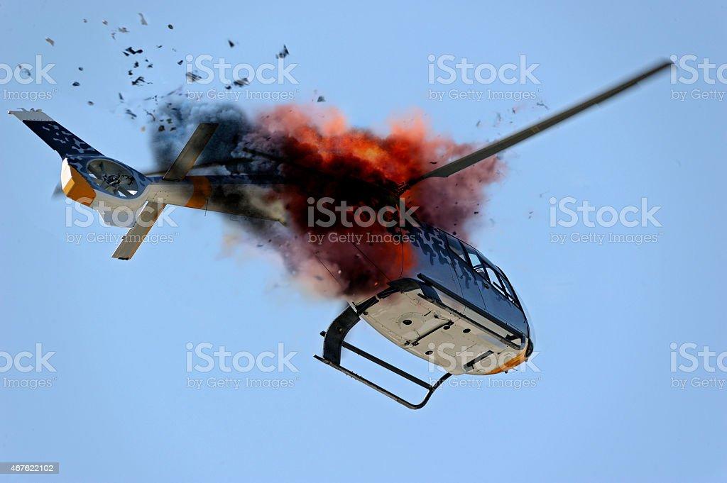 Acidente de Avião - foto de acervo