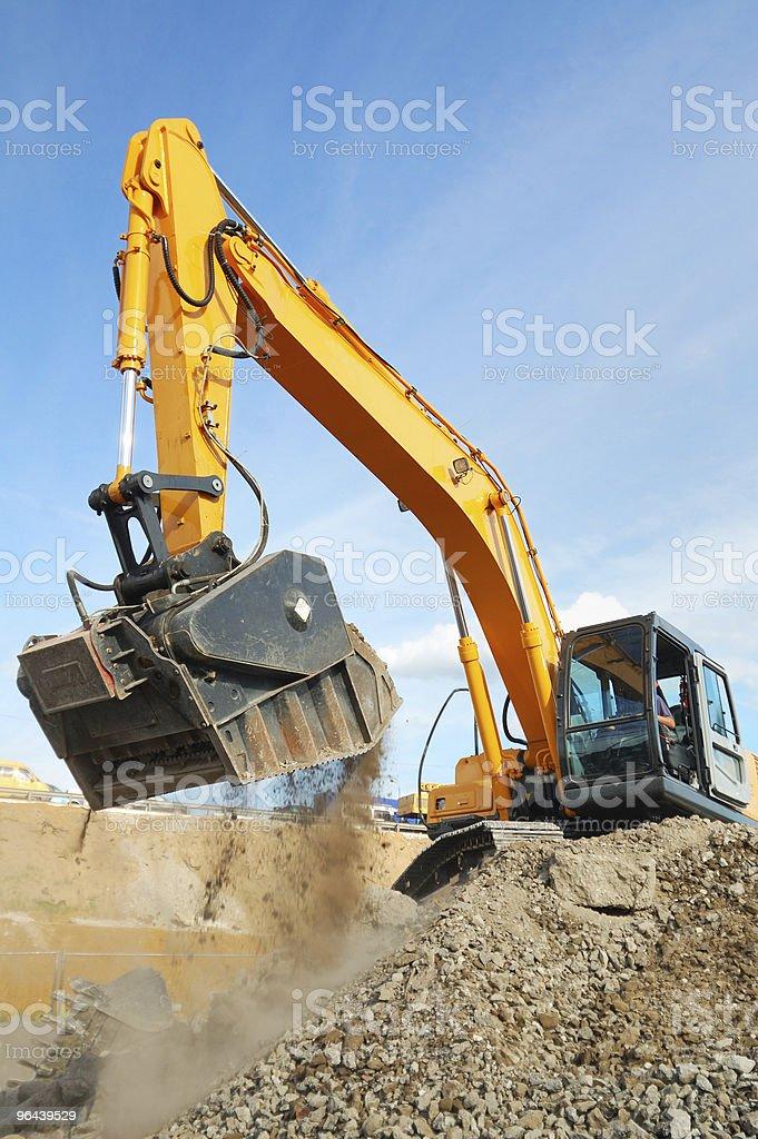 ground work stock photo