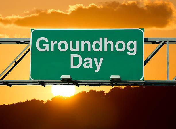 groundhog día - groundhog day fotografías e imágenes de stock