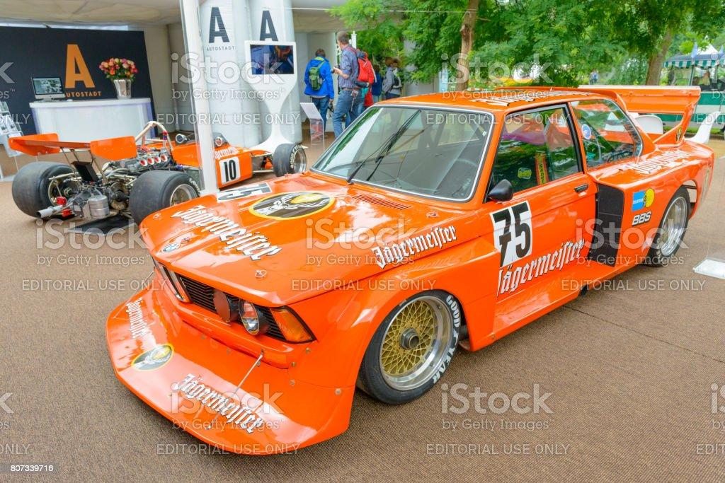 BMW 320 Group 5 Jagermeister racing car