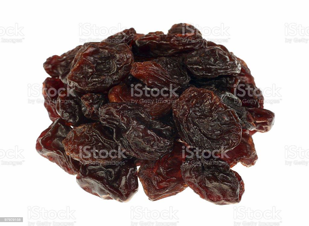 Group browh raisin royalty-free stock photo