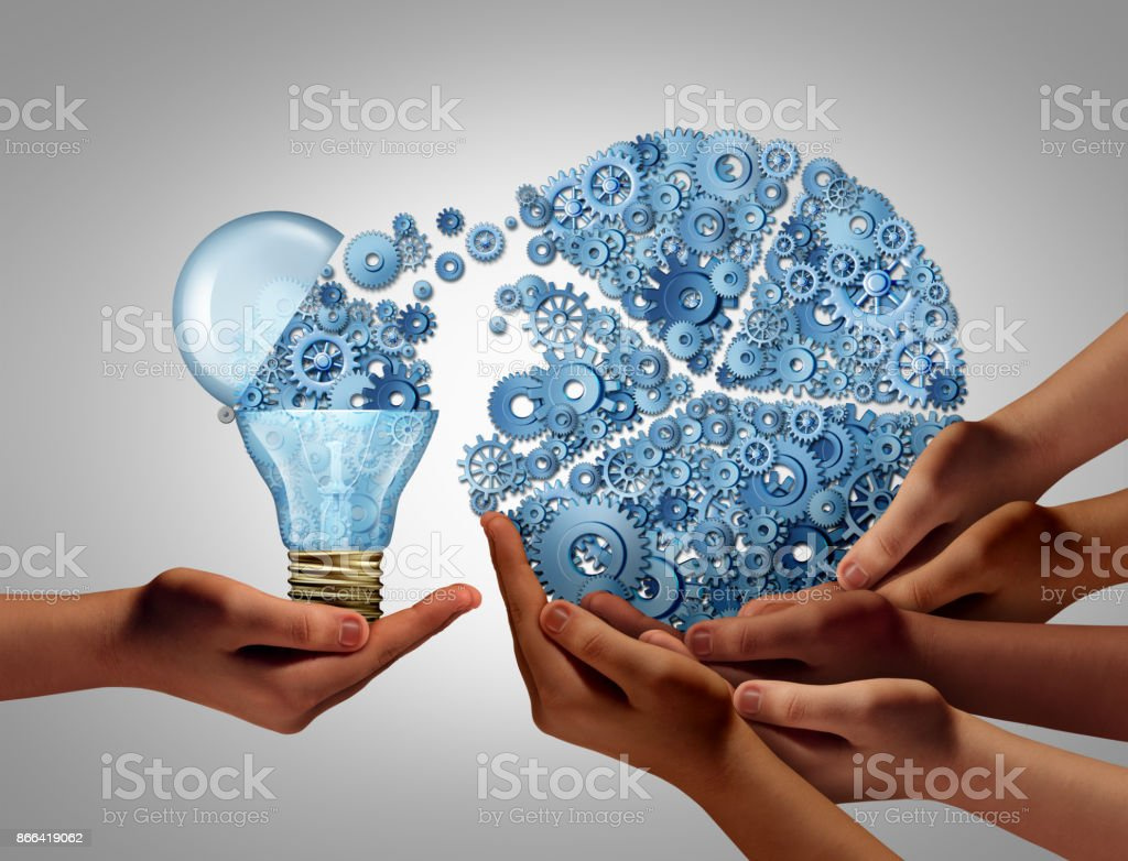 Group Business Ideas Investing royalty-free stock photo