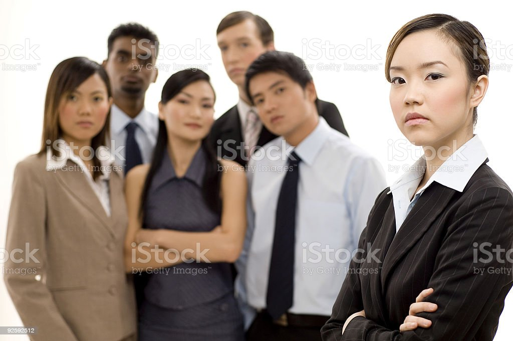 Group Business Leader 3 royalty-free stock photo