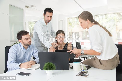 istock Group Decision-Making And Problem-Solving 497478998