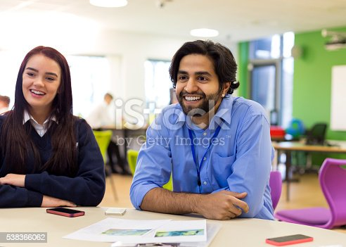 641755970 istock photo Group Discussion at School 538366062