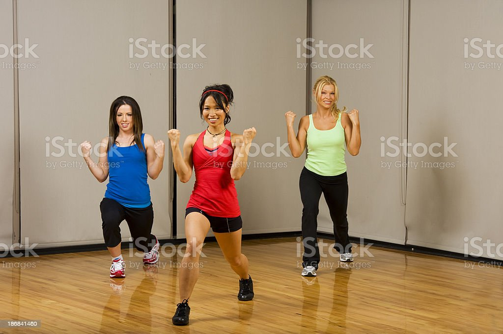 Group Excercise stock photo