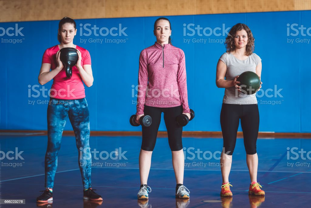 Group Gym Workout stock photo