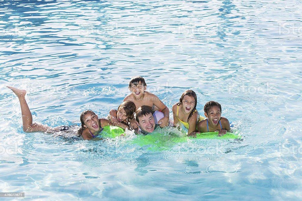 Groupe de la piscine - Photo
