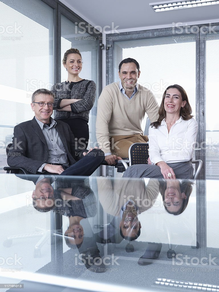 Group Meeting stock photo