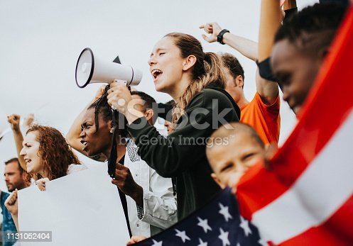 Group of American activists is protesting
