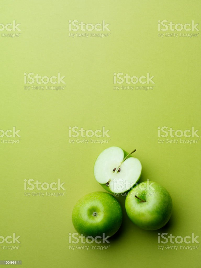Group of Apples royalty-free stock photo