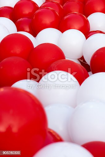 a3e5bb12852f ... Group Of Balloons In Various Shades Of Red And White Stock Photo   More  Pictures of