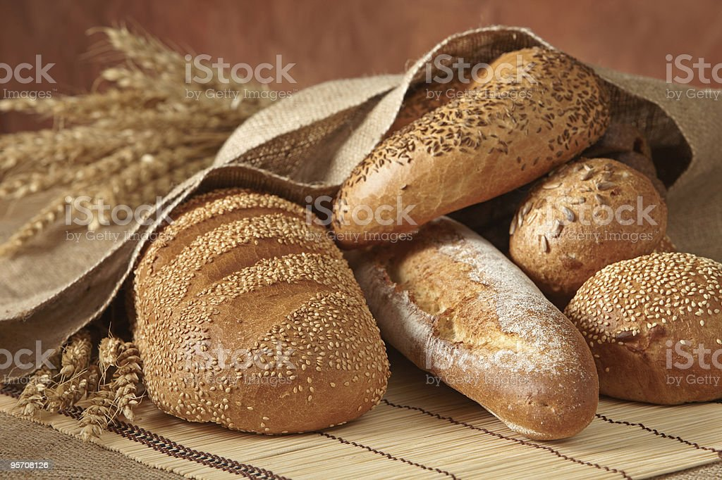 group of bread stock photo