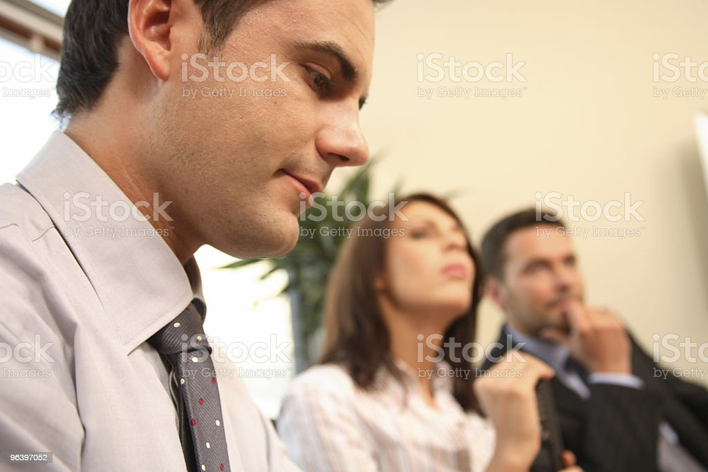 Group of business people at a meeting - Royalty-free Adult Stock Photo
