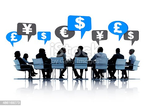 812513444 istock photo Group of Business People Having a Financial Planning 486169273